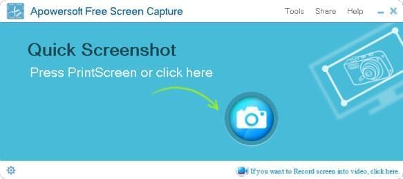 creating screenshot on windows