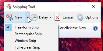 Snipping Tool for Windows 10